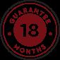 18-Month Warranty